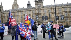 Σημαίες στο Λονδίνο για το Brexit
