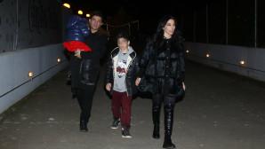 Κουρκούλης - Κελεκίδου: Θεατρική βραδιά με τα παιδιά τους