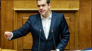 Ο Τσίπρας στη Βουλή