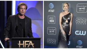 Ο Brad Pitt και η Charlize Theron