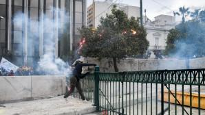 συλλαλητήριο για Μακεδονία επεισόδια