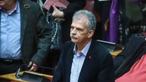 Ο Σπύρος Δανέλλης στην ψηφοφορία για την ψήφο εμπιστοσύνης