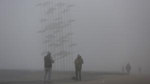 Ομίχλη στη Θεσσαλονίκη