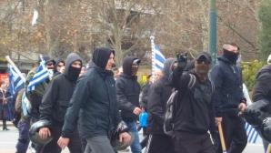 κουκουλοφόροι συλλαλητήριο
