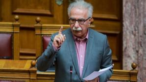 Ο Κώστας Γαβρόγλου σε συζήτηση επίκαιρης ερώτησης στη Βουλή