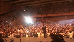 Ο Γιάννης Πλούταρχος σε συναυλία στο Βουκουρέστι