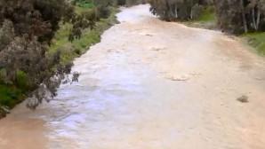 Τα ορμητικά νερά του Γεροπόταμου