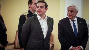 Ο ΠτΔ και ο Πρωθυπουργός στο Προεδρικό Μέγαρο