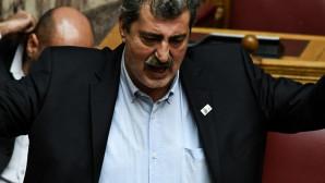 Ο Παύλος Πολάκης σε ομιλία στη Βουλή