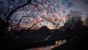 Ηλιοβασίλεμα στον Ληθαίο Ποταμό