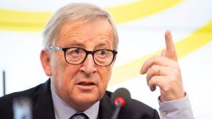 O Γιούνκερ μιλά σε εκδήλωση του κοινοβουλίου της Βάδης-Βυρτεμβέργης