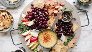 Πιάτο με υγιεινές τροφές