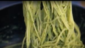 Σπαγγέτι με σάλτσα αβοκάντο