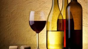 μπουκάλι με κρασί