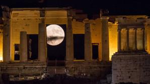 υπερπανσέληνος στην Αθήνα