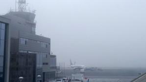 ομίχλη στο αεροδρόμιο «Μακεδονία»