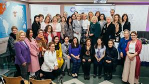 """Μαριάννα Β. Βαρδινογιάννη μέλη """"ΕΛΠΙΔΑΣ"""" WOMEN'S INTERNATIONAL CLUB"""