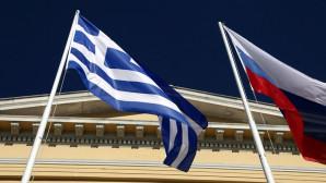 Σημαίες Ελλάδας και Ρωσίας