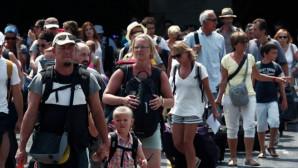 τουρίστες