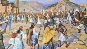Αναπαράσταση της δοξολογίας της 23ης Μαρτίου 1821 στην Καλαμάτα
