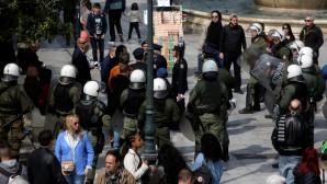 επεισόδιο με ΜΑΤ στη μαθητική παρέλαση στην Αθήνα