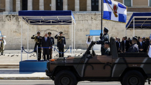 Στρατιωτική παρέλαση στην Αθήνα
