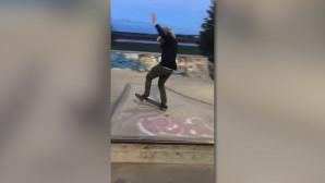 έκανε skateboard μεθυσμένος