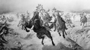 Ο Κάζιμιρ Πουλάσκι Πέφτει Νεκρός Στη Μάχη