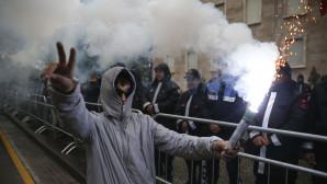 διαδήλωση στα Τίρανα