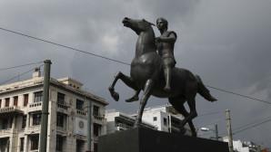μεγα αλεξανδρος αγαλμα