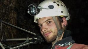 Ο Βρετανός δύτης σε παλιότερη φωτογραφία του από εξερεύνηση σπηλαίου
