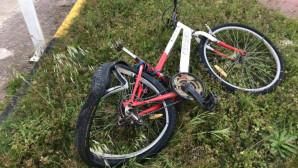 το κατεστραμμένο ποδήλατο του 13χρονου