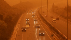 Αφρικανική σκόνη έχει σκεπάσει τα πάντα