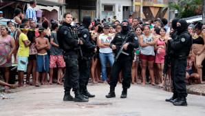 Το σημείο της επίθεσης στη Βραζιλία