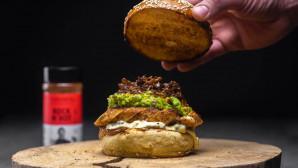 Burger με ψητό κοτόπουλο