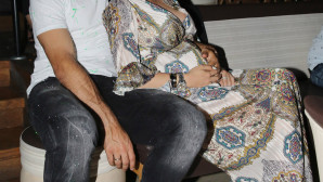 Η εγκυμονούσα Ζέτα Θεοδωροπούλου και ο σύζυγός της Παναγιώτης Ταχτσίδης
