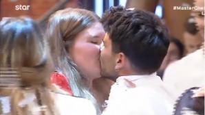 MasterChef: Το Καυτό Φιλί Του Μανώλη Στην Κοπέλα Του!