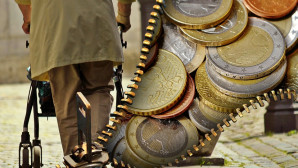 ηλικιωμένος και χρήματα