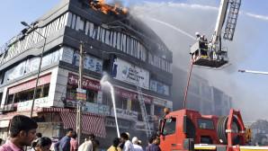 Φωτιά σε εμπορικό κέντρο στην Ινδία