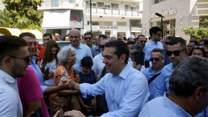 Ο Αλέξης Τσίπρας σε περιοδεία στα Δωδεκάνησα
