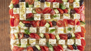 πίτα ελληνική σημαία