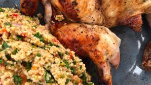 κοτόπουλο με κους κους