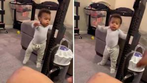 τι σκέφτηκε ένας μπαμπάς για να κάνει την κόρη του να περπατήσει