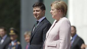 Μέρκελ και Ζελένσκι στο Βερολίνο