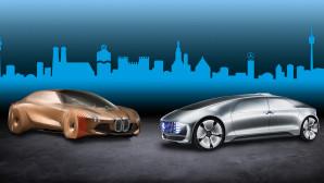 BMW Mercedes Αυτόνομη Οδήγηση