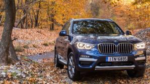 Νέα BMW X3 xDrive Δοκιμή