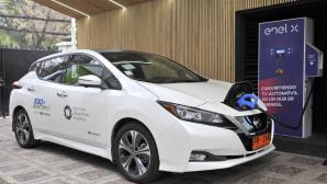 Nissan LEAF Ρεύμα Επιστροφή