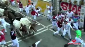 άντρες παλεύουν με ταύρους