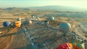 φεστιβάλ μπαλονιών στην Καππαδοκία
