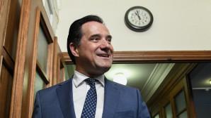 Ο Άδωνις Γεωργιάδης στο υπουργικό συμβούλιο